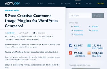 http://wpmu.org/5-creative-commons-photo-plugins-that-will-pull-images-into-your-site/