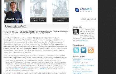 http://genuinevc.com/archives/2012/01/23/start-your-marketplace-engines.html