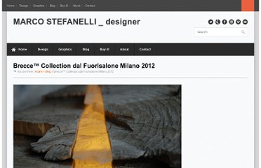 http://www.marcostefanelli.it/2012/04/25/brecce-collection-dal-fuorisalone-milano-2012/