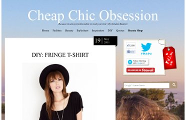 http://cheapchicobsession.com/2011/05/diy-fringe-t-shirt/