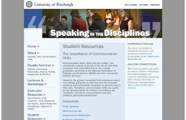 http://www.speaking.pitt.edu/student/index.html