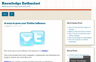 http://mattroyse.wordpress.com/2009/12/01/10-ways-to-grow-twitter-influence/