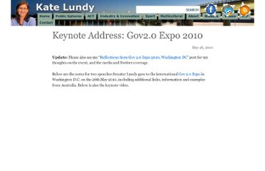 http://www.katelundy.com.au/2010/05/26/keynote-address-gov2-0-expo-2010/