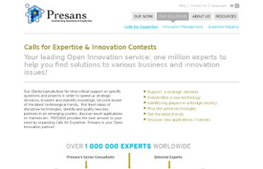 http://presans.com/our-solutions-to-boost-innovation/calls-for-expertise/