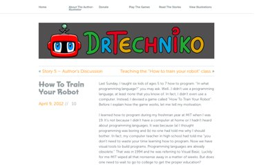 http://drtechniko.com/2012/04/09/how-to-train-your-robot/