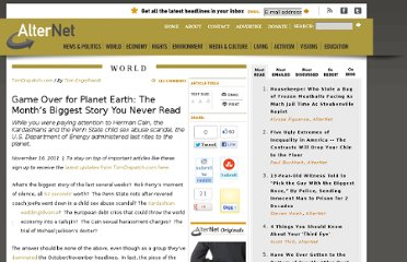 http://www.alternet.org/story/153092/game_over_for_planet_earth%3A_the_month%E2%80%99s_biggest_story_you_never_read