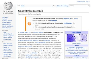 http://en.wikipedia.org/wiki/Quantitative_research