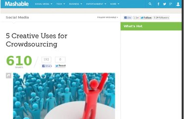 http://mashable.com/2010/05/26/creative-crowdsourcing/
