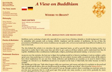 http://viewonbuddhism.org/where_beginner_study_practice_meditation.html