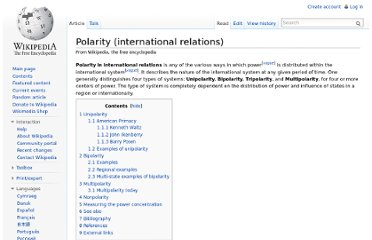http://en.wikipedia.org/wiki/Polarity_(international_relations)