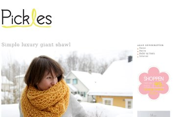 http://www.pickles.no/simple-luxury-giant-shawl/