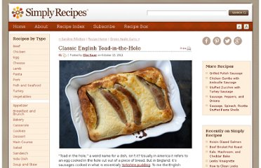 http://www.simplyrecipes.com/recipes/classic_english_toad-in-the-hole/