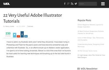 http://webdesignledger.com/tutorials/22-very-useful-adobe-illustrator-tutorials