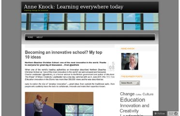 http://anneknock.com/2012/08/05/becoming-an-innovative-school-my-top-10-ideas/