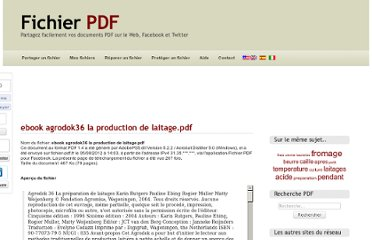 http://www.fichier-pdf.fr/2012/08/05/ebook-agrodok36-la-production-de-laitage/