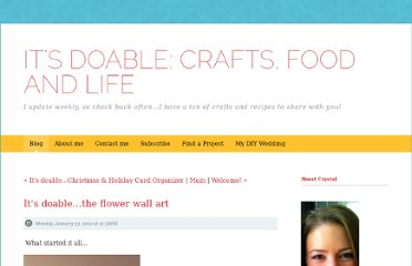 http://itsdoable.squarespace.com/blog/2012/1/23/its-doablethe-flower-wall-art.html