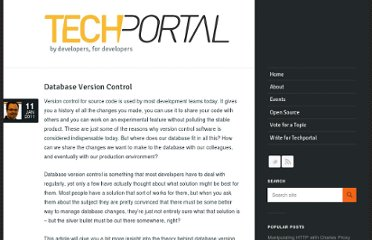 http://techportal.inviqa.com/2011/01/11/database-version-control/
