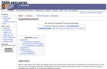 http://wiki.univ-paris5.fr/wiki/Hyperdocument