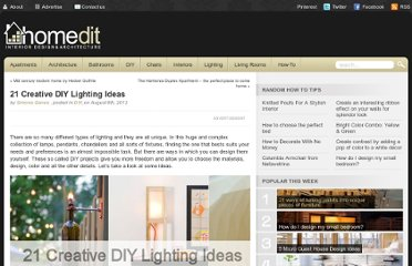 http://www.homedit.com/21-creative-diy-lighting-ideas/