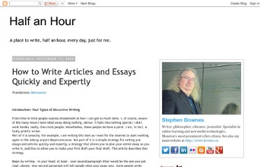 http://halfanhour.blogspot.com/2006/09/how-to-write-articles-and-essays.html
