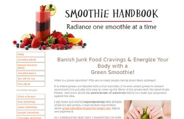 http://www.smoothie-handbook.com/green-smoothie.html