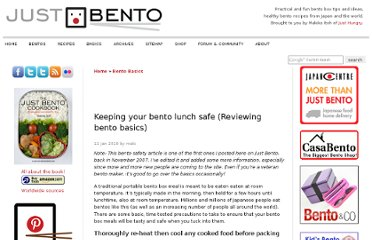 http://justbento.com/handbook/bento-basics/keeping-your-bento-lunch-safe