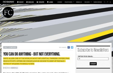 http://www.fastcompany.com/40384/you-can-do-anything-not-everything