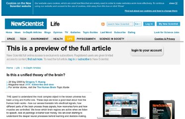 http://www.newscientist.com/article/mg19826586.100-is-this-a-unified-theory-of-the-brain.html
