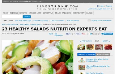 http://www.livestrong.com/slideshow/557725-23-healthy-salads-nutrition-experts-eat/#slide-1
