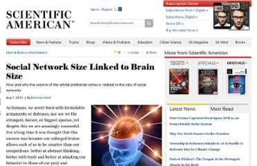 http://www.scientificamerican.com/article.cfm?id=social-network-size-linked-brain-size