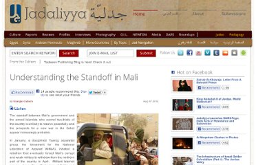 http://www.jadaliyya.com/pages/index/6748/understanding-the-standoff-in-mali