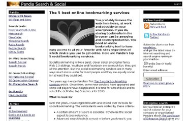 http://www.pandia.com/sew/1362-the-5-best-online-bookmarking-services.html