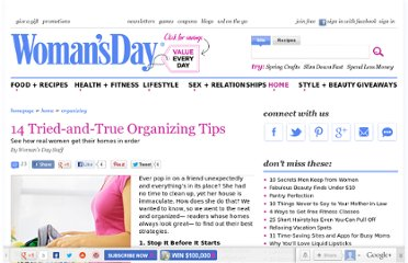 http://www.womansday.com/home/organizing/14-tried-true-organizing-tips-102044