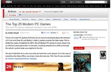 http://www.ign.com/articles/2012/08/07/the-top-25-modern-pc-games-2