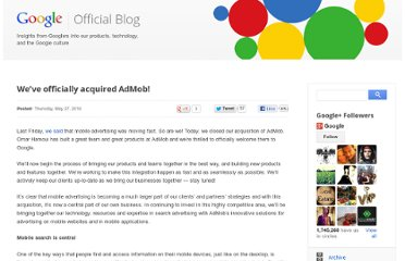 http://googleblog.blogspot.com/2010/05/weve-officially-acquired-admob.html