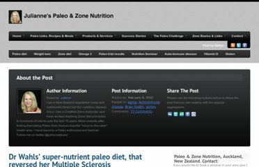 http://paleozonenutrition.com/2012/02/08/a-new-experiment-dr-wahls-super-nutrient-paleo-diet-9-cups-veggies-a-day/
