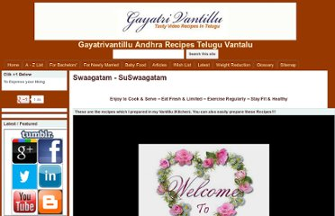 http://sites.google.com/a/gayatrivantillu.com/new-home/