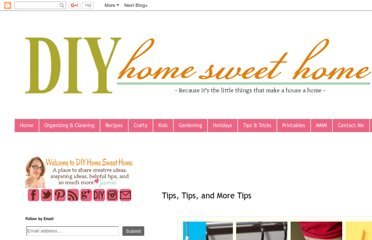 http://diyhshp.blogspot.com/2012/07/tips-tips-and-more-tips.html