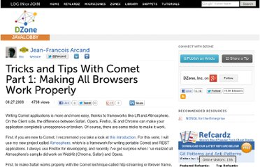 http://java.dzone.com/articles/tricks-and-tips-comet-part-1