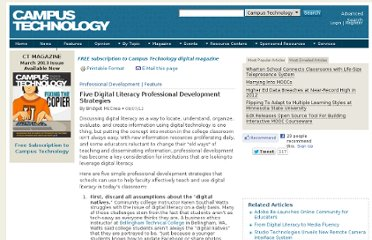 http://campustechnology.com/articles/2012/08/07/five-digital-literacy-professional-development-strategies.aspx