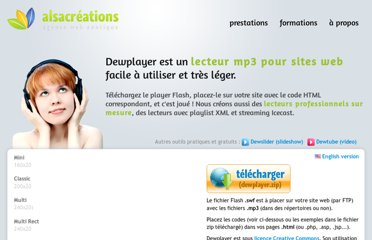http://www.alsacreations.fr/dewplayer.html