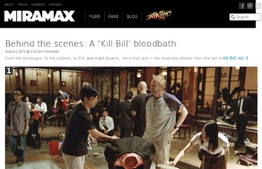http://www.miramax.com/subscript/kill-bill-vol-1-behind-the-scenes-photos