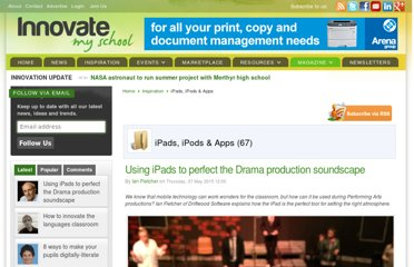http://www.innovatemyschool.com/industry-expert-articles/itemlist/category/57-ipads-ipods--apps.html