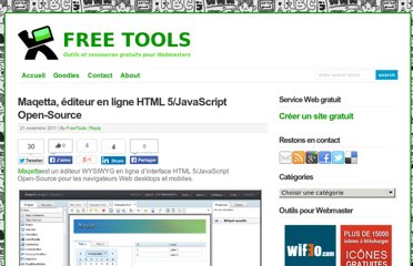 http://free-tools.fr/creation-site-internet/maqetta-editeur-en-ligne-html-5javascript-open-source-4081/