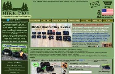 http://hikepro.net/PARACORD/key-buckles.html