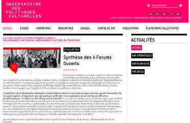http://www.observatoire-culture.net/rep-edito/ido-103/synthese_des_4_forums_ouverts.html