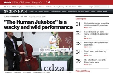 http://www.cbsnews.com/8301-504784_162-57488279-10391705/the-human-jukebox-is-a-wacky-and-wild-performance/