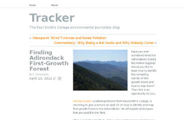 http://psctracker.com/2012/04/13/finding-adirondack-first-growth-forest/#more-618