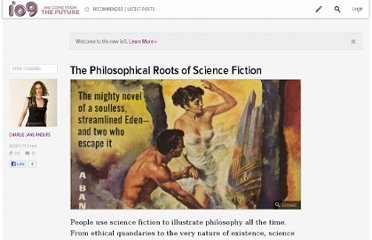 http://io9.com/5932802/the-philosophical-roots-of-science-fiction