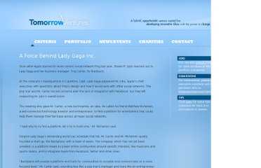 http://www.tomorrowvc.com/archives/a-force-behind-lady-gaga-inc
